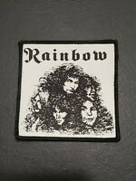 Rainbow Music Band Patch T-shirts, Jeans, Jacket Iron on Clothing Woven Badge