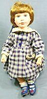 "BOYDS BEAR DOLLS ""TAYLOR"" 1998 14"" Tall Doll Limited Edition 4,113 Of 12,000"