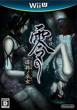 Zero Nuregarasu no Miko (Nintendo Wii U, 2014) - Japanese Version