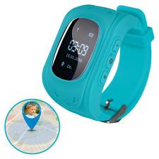 EASYmaxx Armbanduhr Kids Smart Watch telefonieren Sprachnachrichten GPS SIM Blau