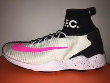 NIKE MENS ZOOM MERCURIAL XI FLYKNIT INDOOR SOCCER SHOES Size 12 (852616 100)
