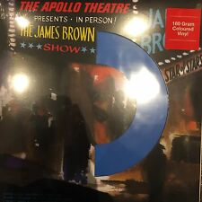 JAMES BROWN - Live At The Apollo 2016 PRESSING ON BLUE 180 VINYL LP / NEW SEALED