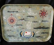 CGT FRENCH LINE SS FRANCE Serving Tray 1960s