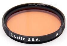 LEICA Orange E.Leitz U.S.A 39mm Filter A for SUMMICRON 2/50 Summaron 2.8/35mm