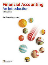 Financial Accounting: An Introduction by Pauline Weetman (Paperback, 2010)