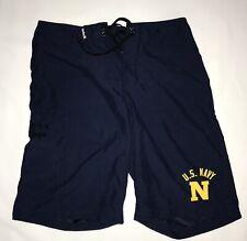 Hurley USN US Navy BoardShorts Mens 30 Blue Swim Shorts Surf Trunks Uniform
