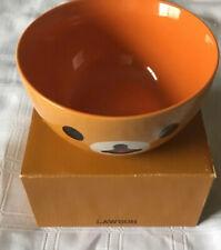 "NOS 2016 Rilakkuma bowl  San-x orange Cup Japan Bear Kawaii SANX Lawson Promo 5"""