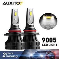2x AUXITO 9005 HB3 LED Headlight Bulb High Beam Conversion Kit 6000K 20000LM