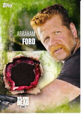 The Walking Dead Season 5 Costume Relic Card Abraham Ford 19/25
