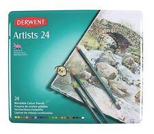 Derwent Artists Colour Pencils – Tin Set of 24