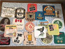 29 Vintage Beer Mats
