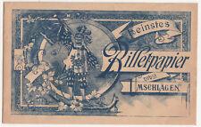 Gioielli Busta Migliori Billetpapier Del 1900 Decorativo! (D5