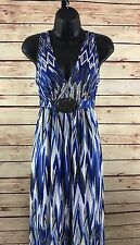 R & M Richards Sleeveless Dress Size 8
