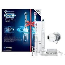 Oral-B Genius Pro 8900 Electric Toothbrush Braun Two Handle Pack with Bluetooth