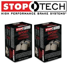 Front and Rear Brake Pads Set KIT StopTech Sport For Subaru BRZ Forester Impreza