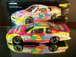 Dale Earnhardt #3 GM Goodwrench Peter Max 2000 Chevrolet Monte Carlo 1:24 Action