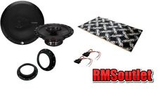 VW Caddy Mk3 03 on Rockford Prime Coaxial Speaker Upgrade pack inc Dynamat