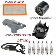 Tune Up Kit Filters Cap Wire Spark Plugs Fit DODGE DAKOTA V6; 3.9L 2002-2003