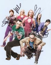 The Big Bang Theory signed cast 8x10 Autograph Photo RP - Free Shipping!!