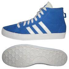 Adidas Honey Mid señora chica sneakers casual de gamuza azul 36.5