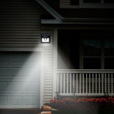 LED Lampe Capteur de Movement Solaire énergie  écurité Jardin Mural Extérieur FR