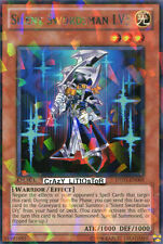 YU-GI-OH SILENT SWORDSMAN LV3 DUEL TERMINAL SILVER RARE MINT DT05-EN009
