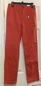 Lands' End Iron Knee Boys Uniform Pants Salmon Color Size 16 (28 X 30)