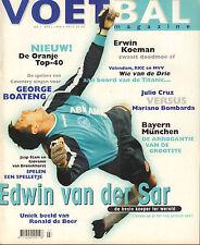 MAGAZINE VOETBAL 1998 nr. 07 - VAN DER SAR/VAN NISTELROOY/BOATENG/ERWIN KOEMAN
