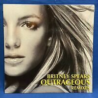"""SEALED Britney Spears Outrageous Remixes US 12"""" Vinyl Record Jive 82876-63276-1"""