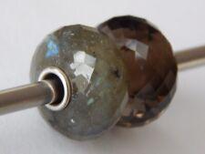 TROLLBEADS Labradorite BEAD #1 TSTBE-20019 Green with FLASH $72 (ONE BEAD) NEW