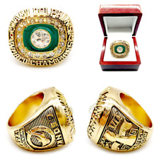 New listing 1972 Miami Dolphins Championship Ring Super Bowl All Players Size 8-13. Rare