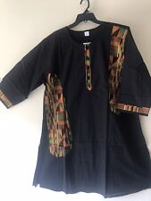 Men's African Kente Pant Suit Cotton 3 Piece dress Ethnic Clothing Plus size