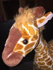 "Beautiful TOYS R US Geoffrey Giraffe Detailed Plush  23"" LARGE Stuffed Animal"