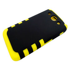 BKY Rugged Tuff Impact Hard Silicone Hybrid Cover Case For LG Optimus G Pro E980