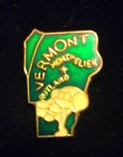 Lapel Hat Tie Pin New #R5Xb Vermont Montpelier Rutland State Colored Pride