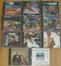 Lot of 11 Music cds Vintage Rock & Roll Era Nelson Elton John Top Gun Classical