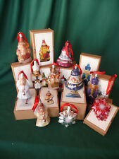 Vintage Style Tin ornaments Set of 10 boxed-Thomas Pacconi- lot of 10
