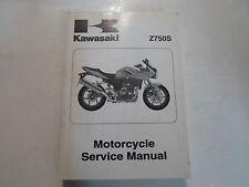 2005 Kawasaki Z750S Motorcycle Service Repair Shop Workshop Manual FACTORY x OEM