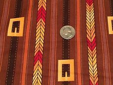 New listing Fabric Buckle Stripe Pilgrim Cosplay on Brown Cotton 3 Yards