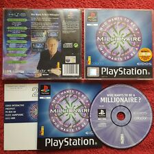 WHO WANTS TO BE A MILLIONAIRE SONY PLAYSTATION PSONE PS1 PS2 PAL