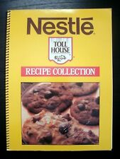 Nestle Toll House Recipe Collection 1987 Vintage Cookbook