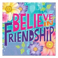 Tinkerbell and Fairies Friendship Dessert Beverage Party Napkins 16 Per Package