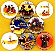 The Beatles x 8 button pin badge yellow submarine stocking stuffer