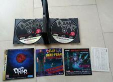 Sega Saturn Deep Fear JP NTSC OVP CIB
