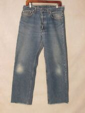 D8410 Levi's 501 USA Made Killer Fade Cut Off Jeans Men's 32x28