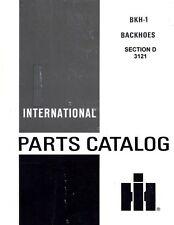 International 3121 Backhoe for 3414 3444 500C 3514 3616 2544 Parts Manual