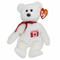 Ty Beanie Babies Maple the Canadian Bear Canada Exclusive 8.5 inch 20cm New MWMT