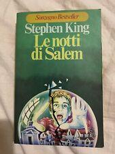 stephen king le notti di salem - Prima Edizione Sonzogno