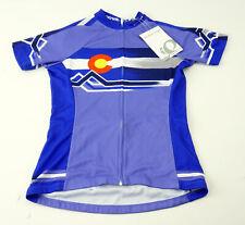Pearl Izumi Women's Select Escape LTD Short Sleeve Cycling Jersey XS Colorado