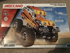 Meccano 15301 Canyon Crawler - 190 Pieces/Parts - Brand New, Unopened